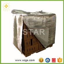 Aluminum multilayer foil insulated cardboard boxes
