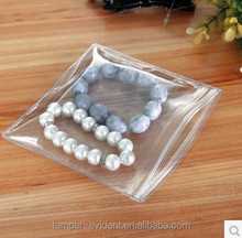 Clear and cheap 11*11cm PVc jewelry pouch