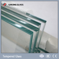 High strength Safety tempered glass 12mm