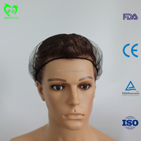 black hair nets for food service