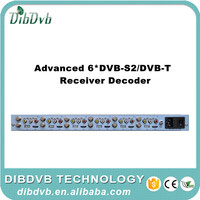 Best suitable catv headend HD and SD mpeg2/h.264 Scrambled CI IRD/biss decoder with Satellite to HD MI/AV converter