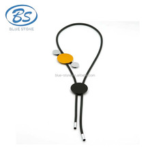 MBN214 simple design yellow long round Planet UniverseTechnology necklace