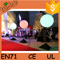 Oxford cloth decoration inflatable stand balloon with led light