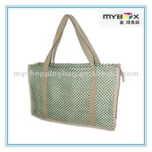 2017 Promotional Hand Made Jute Tote Bag For Girl