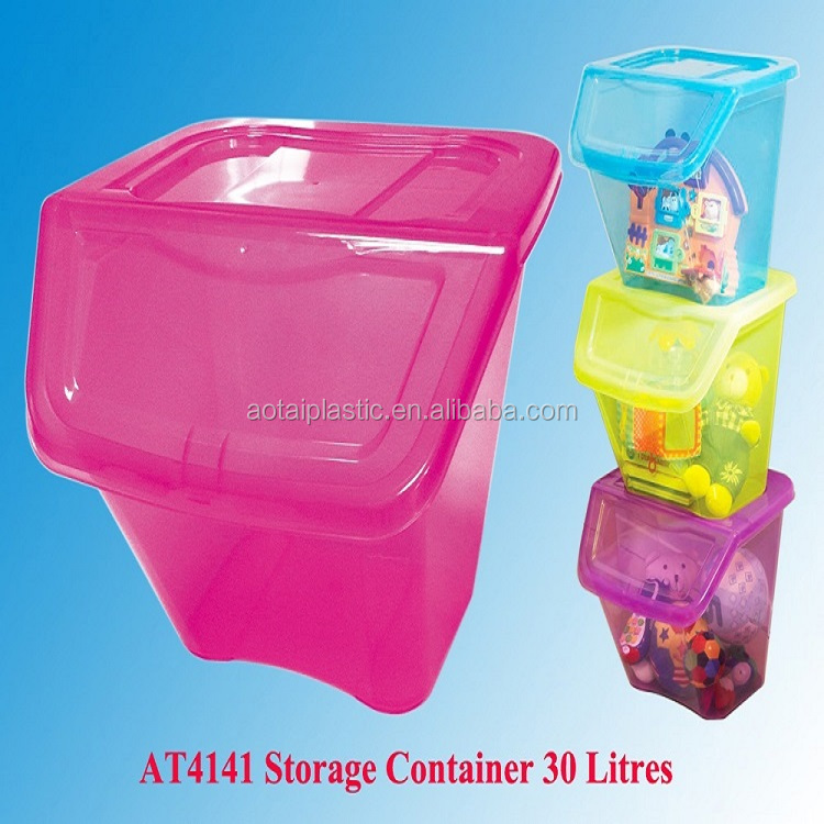 High Quality Large Tower Plastic Box Storage Container for Clothes and Toys
