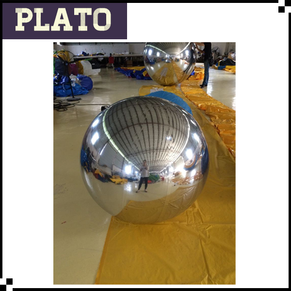 Wholesale PVC inflatable mirror ball for decoration