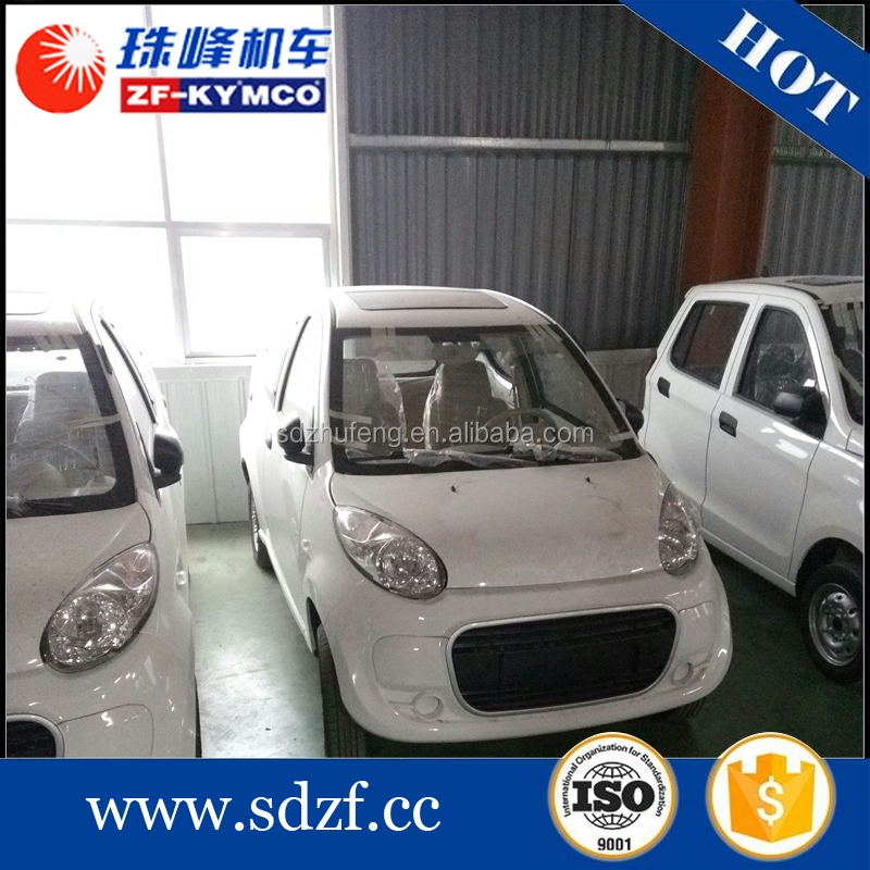 Factory direct price 4 seats smart electric armoured car for sale