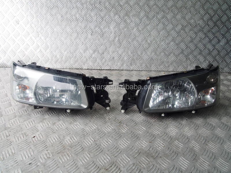 USED JDM 02-04 Forester SG SG5 SG9 Front HID Xenon Headlights lights OEM