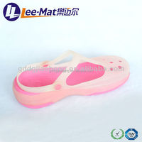 Plastic summer shoes terry ladies shoes breatheable lady indoor shoes