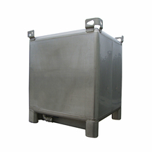 1000 Liter Stainless Steel Tank Dairy Tank Ibc Container