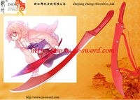 Cosplay and Anime sword kyokai no kanata Kuriyama Mirai aunt knife Replica Sword