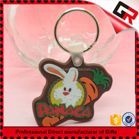 Promotional gold coolboy soft pvc key chain
