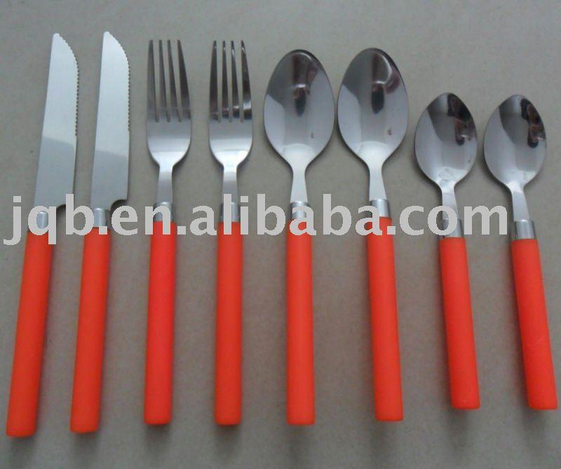 bakelite handle flatware
