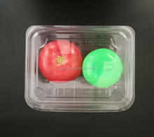 Plastic trays for pomegranate fruit