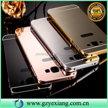 Make Up Acrylic Mirror Bumper Case For Samsung I8260 I8262 Back Cover