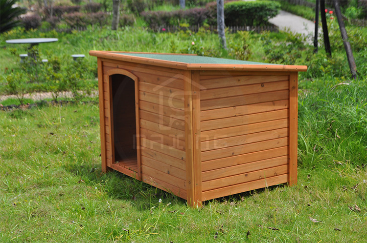 Deluxe durable wooden dog cage