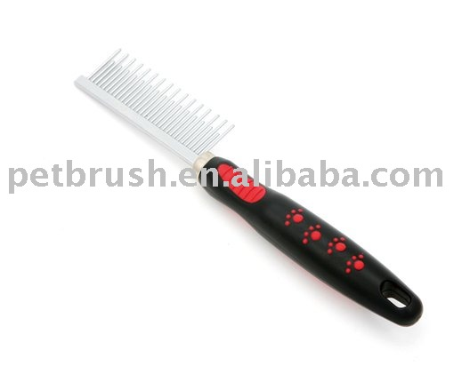 two sides steel pet comb