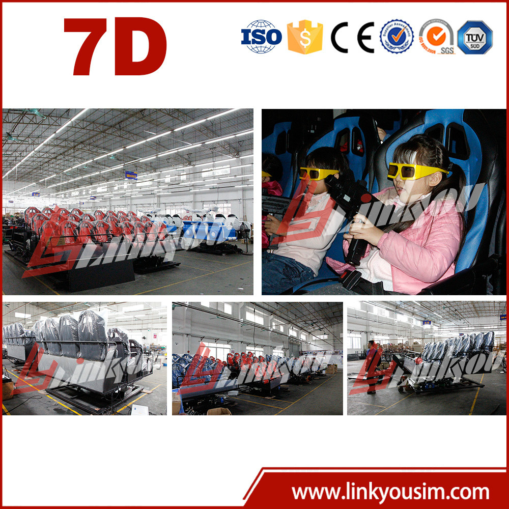 New investment outdoor amusement park equipment 5D 7d movies