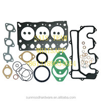 Isuzu 3LB1 engine overhaul gasket kit for excavator and forklift truck