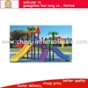 Palm and house sculpture plastic outdoor equipment