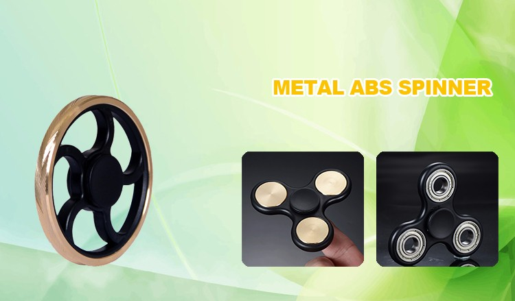 Small-scale Hand Spinner ABS+Metal Finger Spinner Toy