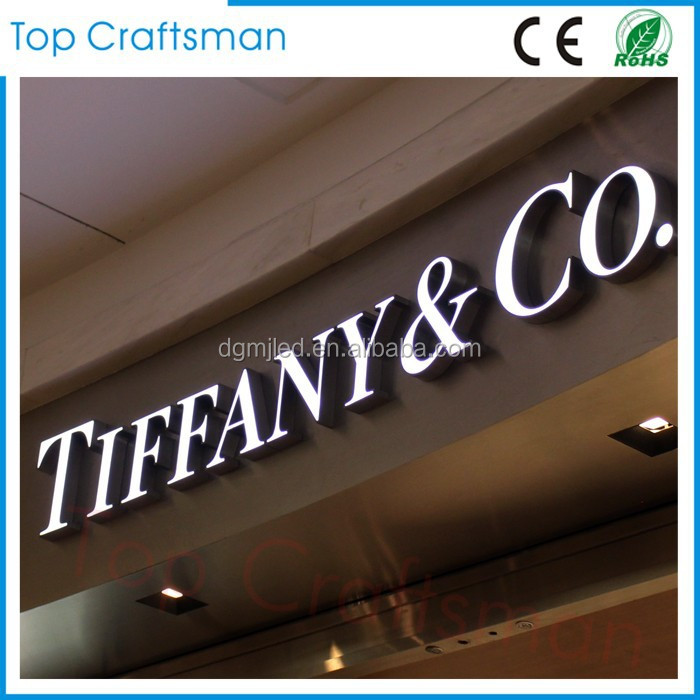 Outdoor & Indoor used waterproof epoxy resin led channel letter <strong>sign</strong> for shop front