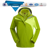 Design Snowboard Jacket with Detachable Hood for Women