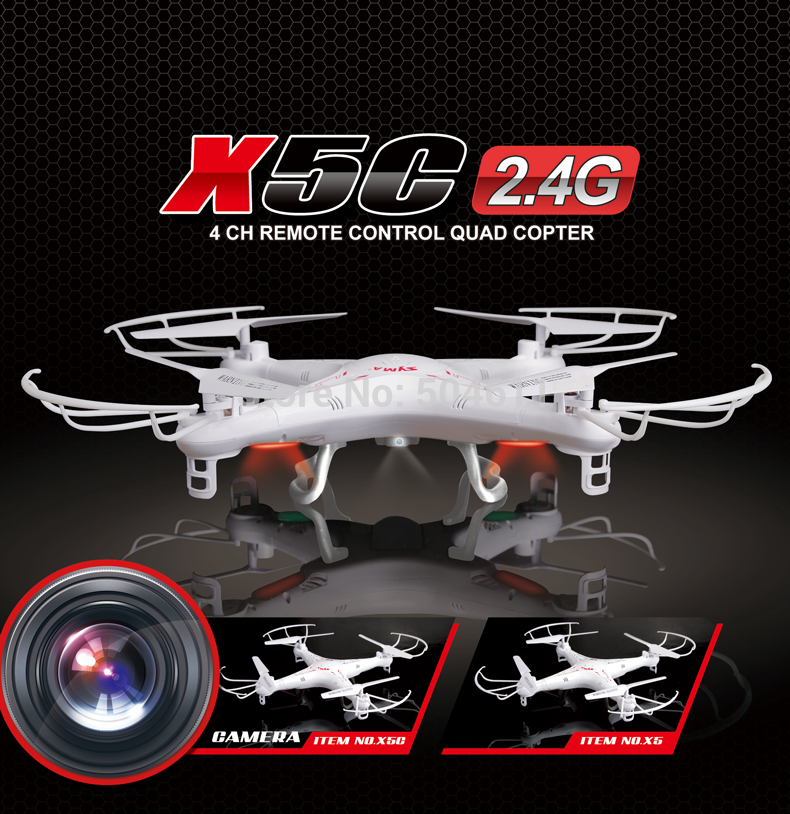 Quadrocopter professional | 2.4G 4CH Syma x5c update syma x5c-1 with 2MP HD Camera or without camera