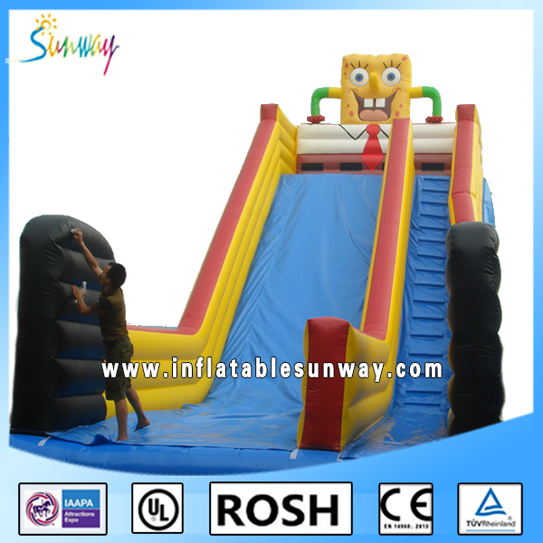 2016 New Factory Supply Giant Inflatable Water Slide For Sale, Commercial Outdoor Inflatable Water Park For Adults