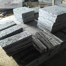 basaltic lava stone /lava grey/ landscaping paver lava stone grey color natural