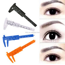 Permanent Makeup Eyebrow Ruler Tattoo ruler Shaping Tool microblading Reusable Eyebrow Stencil Ruler For Beginner tattoo tool