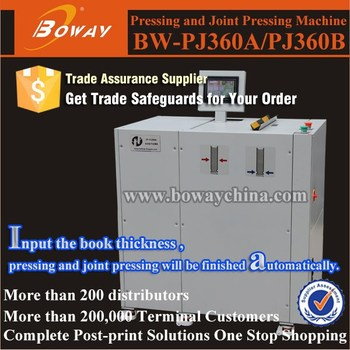 BW-PJ360A Automatic Hard Cover Case Pressing and Joint Pressing Machine