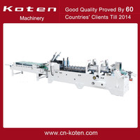 High Speed Folding and Gluing Machine