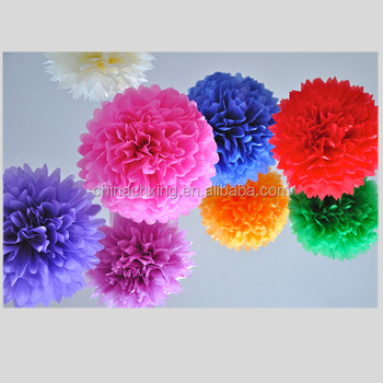 how to make large tissue paper pom poms How to make tissue paper pom-poms - tissue paper balls - tissue paper flowers party decorations diy tutorial-perfect for christian's room find this pin and more on paper crafts by angie steffanni snell pinspiration: tissue paper pom poms - that's what she said how-to-make-tissue-paper-pom-poms mine don't turn out as full unless i make them smaller.