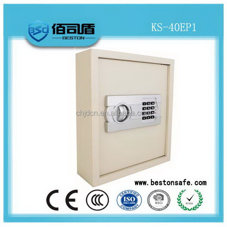 Secure newly design hotel key wall mounted safe box