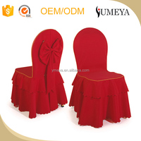 Hot sale spandex polyester chair cover used dining room chair cover