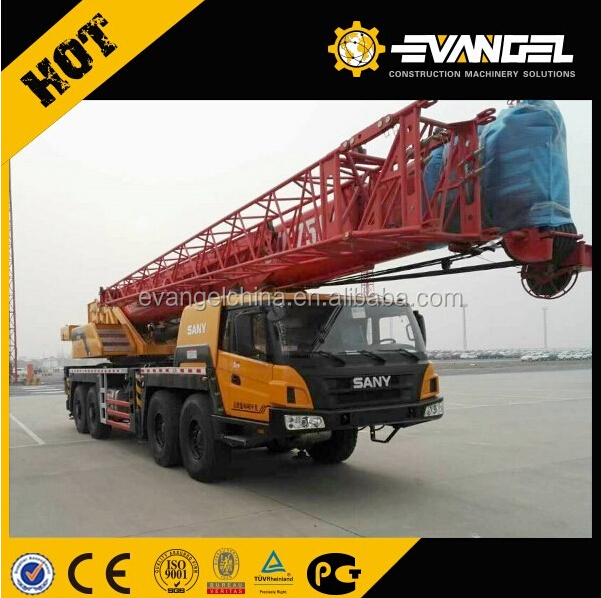 SANY STC500 75Ton Low Fuel Consumption for Mobile Crane for Malaysia