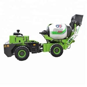1.5 CBM mini self loading concrete mixer