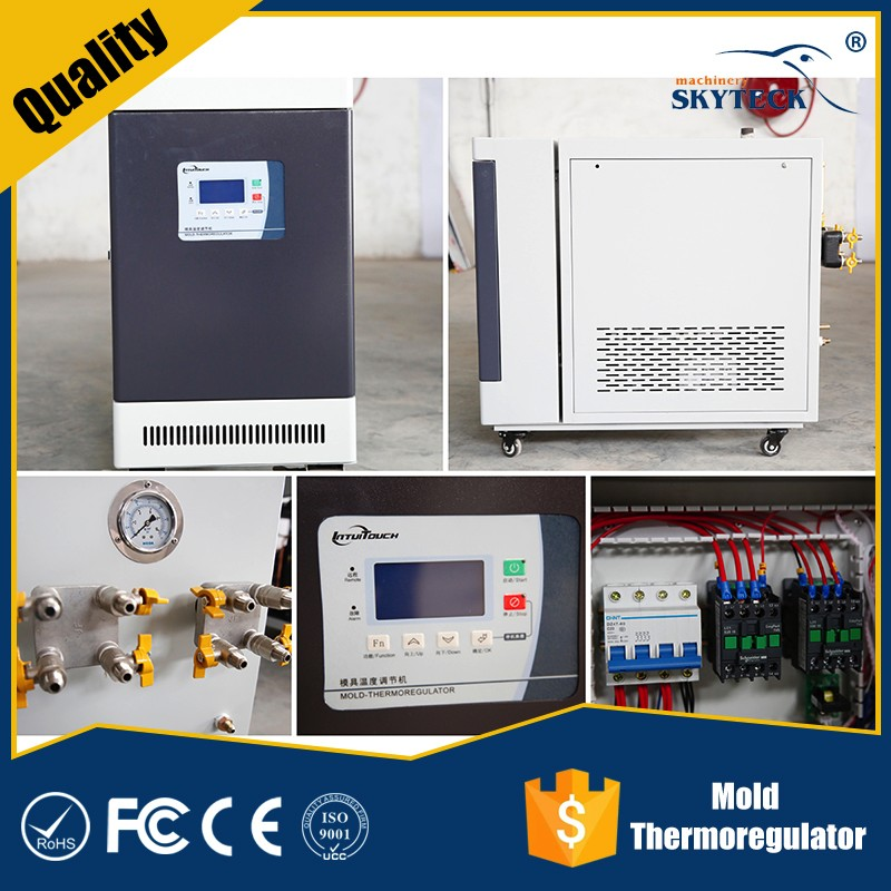 temperature controlled water heater/chiller capacity calculation/oil chiller unit