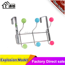 TAOCHENG multi color balls Metal hooks for clothes hanger 3 hooks