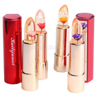 Authentic Hot Selling Kailijumei Gold Foil Glitter Jelly Lipstick With Fate Of Flower Lipstick with authorization