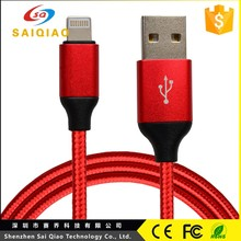 Custom mobile phone usb type c cable low voltage protect usb data cable
