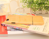 2016 new wood phone case for iPhone 6, wood case