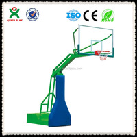Hydraulic pressure adjustable basketball stand, shcool portable basketball stand QX-141B