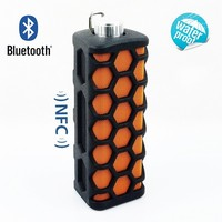 New Upgrade Outdoor Wireless Bluetooth 3.0 NFC speaker for for iPhone, iPad,Android, Windows, Laptops