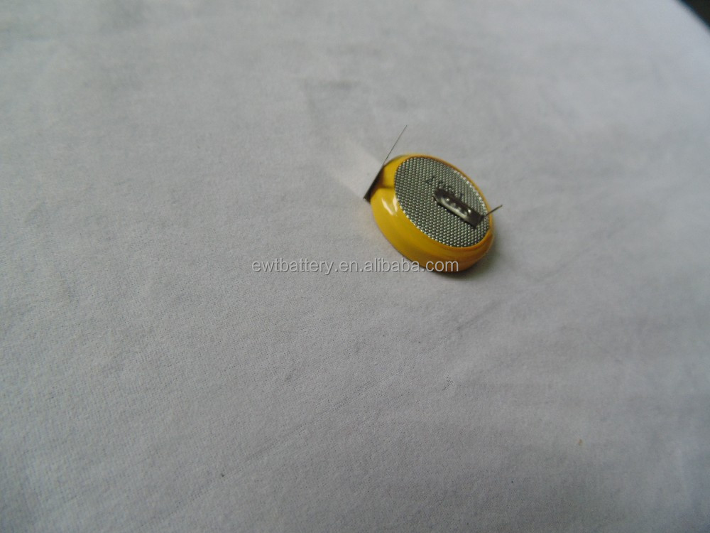 lir3048 3.7v 170mah rechargeable coin cell lithium ion li-ion button battery for gps mp4 pad use