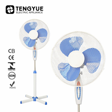 cheap price 16 inch stand fan 3 blade stand fan cross base standing fan