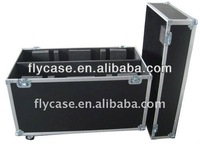 Aluminium flight case for camera and DVD recording transport