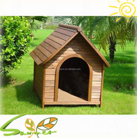 Wholesale Outdoor Dog House PS Wooden Dog kennel Dog Cage