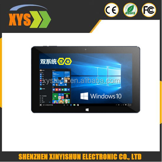 In Stock Cube I10 Dual OS Mini Pad 10.6 inch 1366*768 Intel Quad Core 2GB 32GB Android4.4&Win8 Play store USB OTG